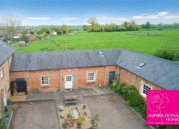 Thumbnail 2 bed terraced bungalow for sale in Loop Road, Keyston, Huntingdon, Cambridgeshire