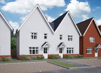 Thumbnail 3 bed end terrace house for sale in The Netherwood, Swindon