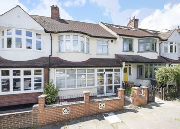 Thumbnail 3 bed terraced house for sale in Courtrai Road, London