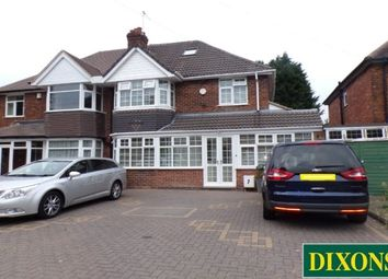 Thumbnail 4 bed property to rent in Sandhurst Avenue, Hodge Hill, Birmingham