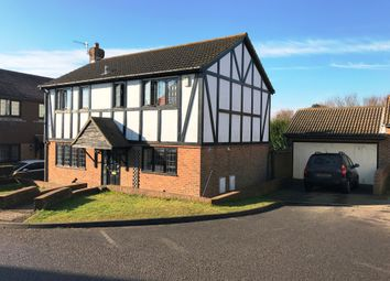 Thumbnail 4 bedroom detached house for sale in Shannon Clsoe, Telscombe Cliffs