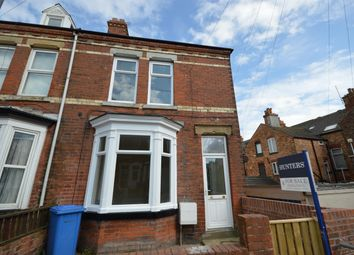 Thumbnail 4 bed end terrace house to rent in Fairfield Road, Bridlington