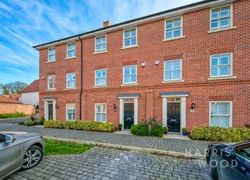 3 bed town house for sale in Swallowtail Glade, Stanway, Colchester CO3