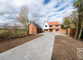 Thumbnail 4 bed detached house for sale in Bury Road, Hitcham, Hadleigh