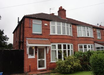 Thumbnail 4 bedroom property to rent in Heathside Road, Withington, Manchester