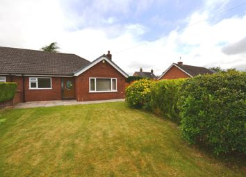 Thumbnail 2 bed semi-detached bungalow for sale in Longlands Lane, Market Drayton
