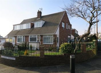 Thumbnail 3 bed semi-detached house for sale in Leafield Crescent, South Shields