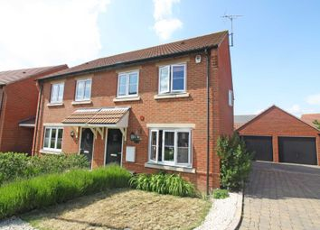 Thumbnail 3 bed semi-detached house to rent in Walnut Lane, Didcot