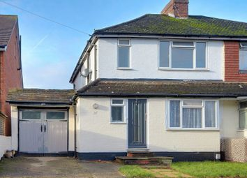 Thumbnail 3 bed semi-detached house for sale in Highland Road, Aldershot