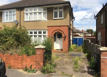 Thumbnail 3 bed semi-detached house to rent in Austin Road, Luton