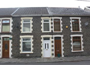 Thumbnail 3 bedroom terraced house to rent in Cornwall Road, Williamstown, Tonypandy