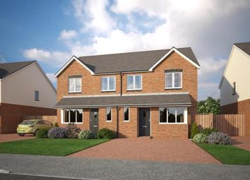 Thumbnail 3 bed semi-detached house for sale in Holmleigh Close, Cheshire Lane, Buckley, Clwyd