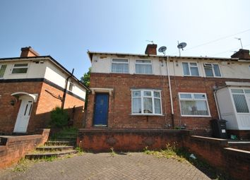 Thumbnail 3 bed end terrace house to rent in Hazelville Road, Hall Green, Birmingham