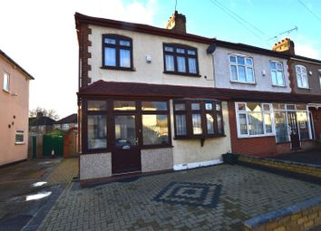 Thumbnail 3 bed end terrace house for sale in Chadwell Heath Lane, Chadwell Heath, Romford