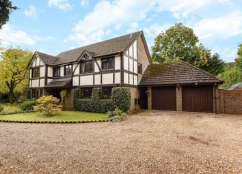 Thumbnail 5 bed detached house for sale in Foxdown Close, Camberley