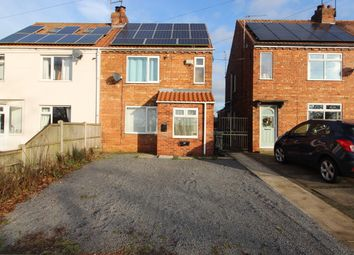 Thumbnail 2 bed semi-detached house for sale in Kirton Road, Blyton, Gainsborough