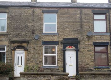 Thumbnail 2 bed terraced house to rent in Dunwood Park Courts, Milnrow Road, Shaw, Oldham