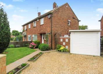 Thumbnail 2 bedroom semi-detached house for sale in Willow Avenue, Dogsthorpe, Peterborough