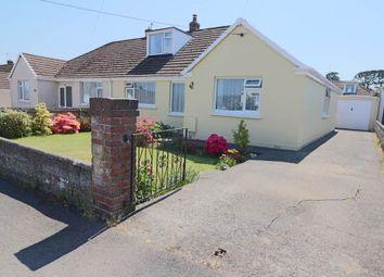 Thumbnail 3 bed semi-detached bungalow for sale in Ellerslie Road, Sticklepath, Barnstaple