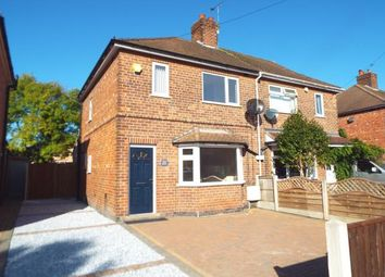 Thumbnail 3 bed semi-detached house for sale in Welwyn Road, Wollaton, Nottingham, Nottinghamshire
