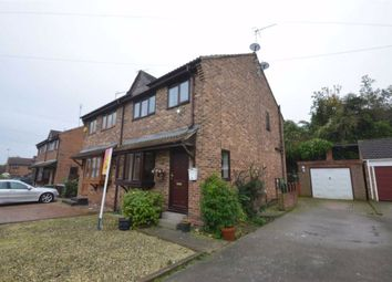 Thumbnail 3 bed semi-detached house for sale in The Poplars, Knottingley