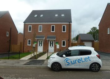 Thumbnail 3 bedroom semi-detached house to rent in Chestnut Street, Walsall
