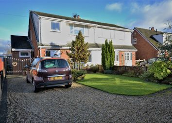Thumbnail 3 bed semi-detached house for sale in Church Lane, Charnock Richard, Chorley