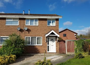 Thumbnail 3 bed semi-detached house for sale in Pulford Close, Beechwood, Runcorn