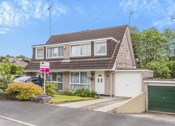 Thumbnail 3 bed semi-detached house for sale in Burnett Close, Saltash