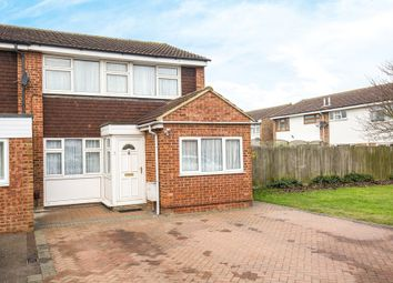 Thumbnail 4 bedroom end terrace house for sale in Eliot Road, Royston