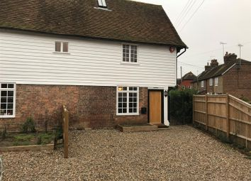 Thumbnail 2 bed semi-detached house to rent in Howland Road, Marden, Tonbridge