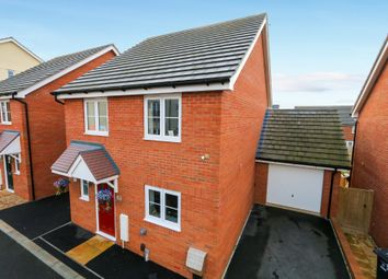 Thumbnail 4 bed detached house for sale in Tremlett Meadow, Cranbrook, Exeter