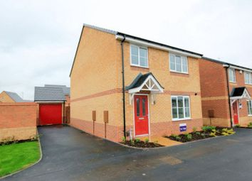 Thumbnail 4 bedroom detached house for sale in Hurricane Close, Stafford