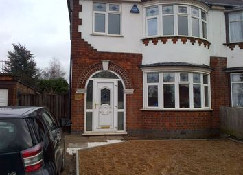 Thumbnail 3 bed semi-detached house to rent in Leicester Road, Wigston