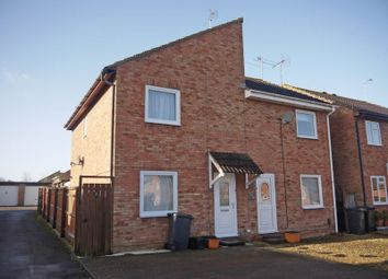 Thumbnail 3 bedroom semi-detached house for sale in Fleetwood Court, Freshbrook, Swindon