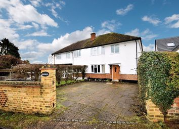 Thumbnail 4 bed semi-detached house for sale in Back Lane, Chalfont St. Giles