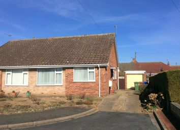 Thumbnail 2 bed semi-detached bungalow for sale in Millbank, Bridlington, E Yorkshire