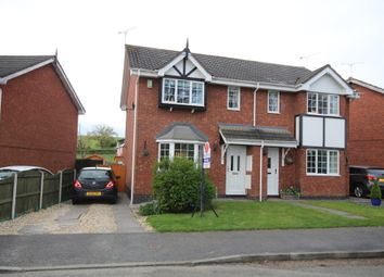 Thumbnail 3 bed semi-detached house for sale in Brandy Brook, Johnstown, Wrexham