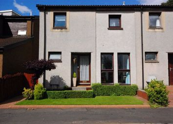 Thumbnail 3 bedroom end terrace house for sale in Kestrel Court, Hardgate, Clydebank