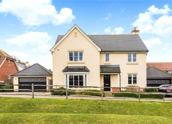 Thumbnail 4 bed detached house for sale in The Cobbs, Hartley Wintney, Hook