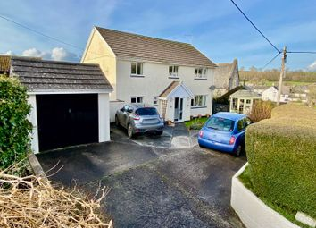 Thumbnail 4 bed detached house for sale in Station Road, Bridestowe, Okehampton