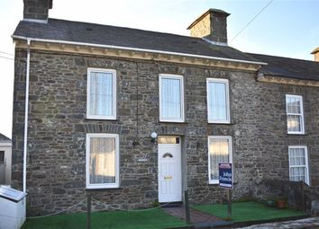 Thumbnail 3 bed end terrace house for sale in Stryd Yr Eglwys, Llanon, Ceredigion