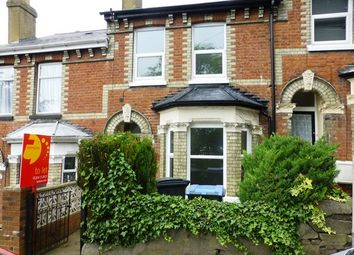 Thumbnail 2 bed terraced house to rent in Vale View Road, Dover