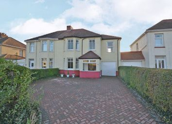 Thumbnail 4 bedroom semi-detached house for sale in Spacious, Extended House, High Cross Road, Newport