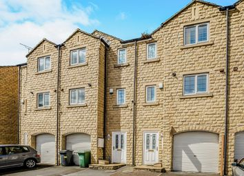 Thumbnail 4 bedroom town house for sale in Dale View, Longwood, Huddersfield