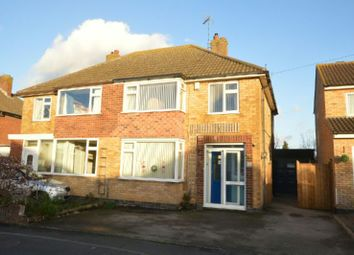 Thumbnail 3 bed semi-detached house for sale in Edgeley Road, Countesthorpe, Leicester