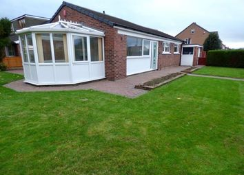 Thumbnail 3 bed detached bungalow for sale in Woodend Drive, Carlisle, Cumbria