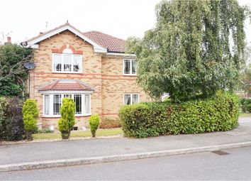 Thumbnail 4 bed detached house for sale in Wharfedale Gardens, Mansfield