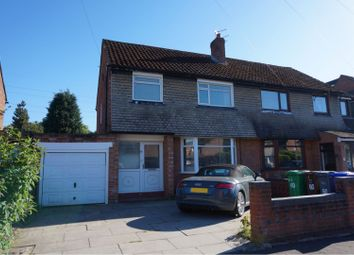 Thumbnail 3 bed semi-detached house to rent in Bankside Road, Manchester