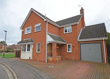 4 bed detached house for sale in Burwell Reach, Orton Longueville, Peterborough PE2